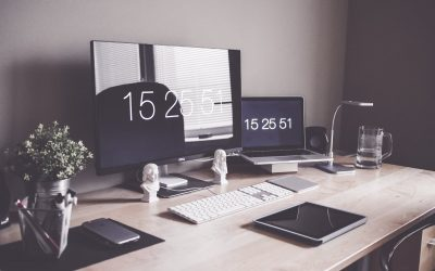 Setting up your desk when working from home
